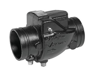 Victaulic FireLock™ Style 717 2-1/2 in. Grooved Check Valve VDOMV024717PE0-NR