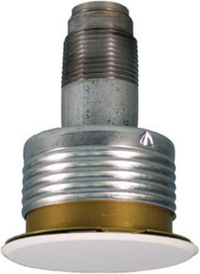 Victaulic FireLock™ Model V3802 1/2 in. 155 Degrees F Quick Response Concealed Sprinkler Head Brass VDOMS381PCQ410