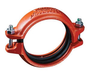 Victaulic FireLock™ Style 009N Domestic 2-1/2 in. Painted Rigid Coupling VDOML02409NPE0