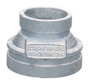Victaulic FireLock™ Style 50 3 x 2 in. Grooved Ductile Iron Concentric Reducer VDOMFC43050G00