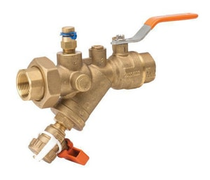 Victaulic Series 78Y 1/2 in. 2-Piece 400 psi Sweat Brass Ball Valve with Lever Handle VV78YBSS-NR