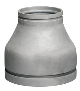 Victaulic 24 x 14 in. Grooved Cast Iron Concentric Galvanized Reducer VWJ50GF0-NR