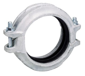 Victaulic FireLock™ Style 005 2 x 2 in. Galvanized Coupling Forged Steel VL020005GE1