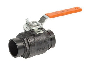Victaulic Series 726 1-1/2 in. Ductile Iron Standard Port Grooved 1000# Ball Valve VV0726P0A
