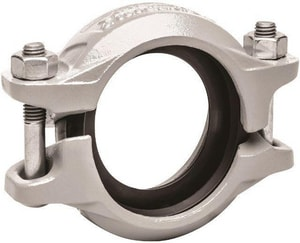 Victaulic QuickVic® Style 107N 2-1/2 in. Grooved Ductile Iron Coupling with T-Gasket VL100107GTN-NR