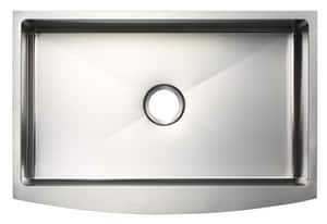 PROFLO® 33 x 22 in. No Hole Stainless Steel Single Bowl Apron Front Kitchen Sink PF1B3117A