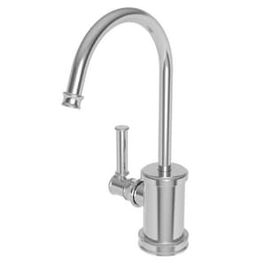 Newport Brass Taft 1 gpm 1 Hole Deck Mount Hot Water Dispenser with Single Lever Handle in Polished Chrome N2940-5613/26