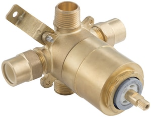 PROFLO® Accufit 1/2 in. CPVC Ceramic Tub and Shower Valve (Less Stop) PF4001CLS