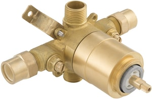 PROFLO® Accufit 1/2 in. CPVC Ceramic Tub and Shower Valve with Stop PF4001C