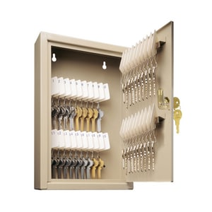 MMF Industries Uni-Tag® 8 in. Steel 40 Key Medium Security Cabinet in Sand M201904003