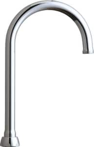 Chicago Faucet 5-1/4 in. High-Arch Gooseneck Swing Spout Polished Chrome CGN2AJKABCP
