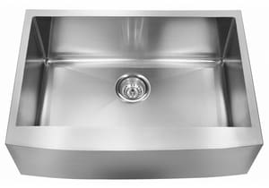 Franke Kinetic 30 x 20-3/4 in. No Hole Single Bowl Apron Front Kitchen Sink in Stainless Steel FFFS30B1018
