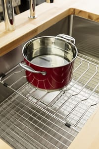 Franke Consumer Products Pescara 29-1/2 x 18-9/16 in. Stainless Steel Single Bowl Undermount Kitchen Sink FPTX11028
