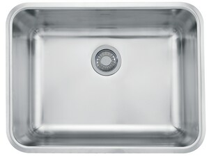 Franke Grande 24 3 4 X 18 3 4 In No Hole Stainless Steel Single Bowl Undermount Kitchen Sink Gdx11023 Ferguson