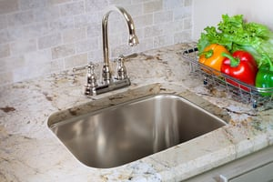 Franke Axis 2-Hole 1-Bowl Dual Mount Bar Sink in Stainless Steel FBMSK802