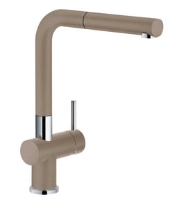 Franke Active-Plus 1.75 gpm 1-Hole Pull-Out Kitchen Sink Faucet with Single Lever Handle in Oyster FFF3804