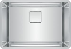 Franke Consumer Products Pescara 26-1/2 x 18-1/2 in. Stainless Steel Single Bowl Undermount Kitchen Sink FPTX11025