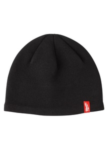 Milwaukee Polyester and Spandex Fleece Lined Knit Hat in Black MIL502B