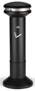 Rubbermaid Infinity™ Ultra-High Capacity Smoking Receptacle in Black RFG9W3400BLA