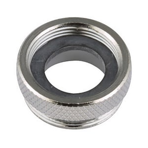 Neoperl 15/16 x 55/64 in.-27 1.5 gpm Female x Male EPDM Junior Adapter in Nickel Plated N1534105
