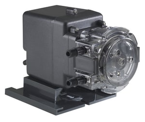 Stenner Classic Series 3/8 in. 5 gpd 100 psi Polycarbonate, Polypropylene and Polyethylene Single Fixed Head Centrifugal Pump S85MFH1A3SUAA at Pollardwater