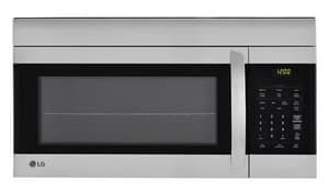 LG Electronics 29-7/8 in. 1.7 cf 1000W Over-the-Range Microwave Convection Oven in Stainless Steel LGLMV1762ST