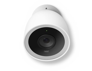 Google Nest 15/100/240V Outdoor Security Camera in White NNC4101US