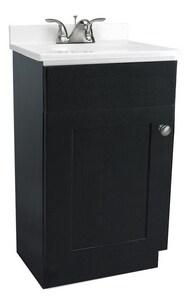 Design House 18 x 31-1/2 x 17 in 1-Door Freestanding Vanity Base in Espresso D541862