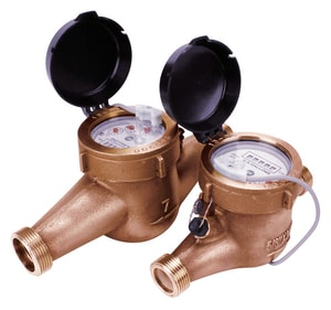 Seametrics MJN Series 3/4 in. NSF Bronze Cold Water, Totalizer Only Meter – US Gallons SMJNT075 at Pollardwater