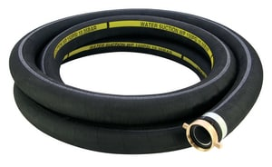 Abbott Rubber Co Inc 3 in. x 20 ft. EPDM Suction Hose in Black A1210300020 at Pollardwater
