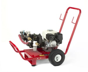 Wheeler-Rex 10 gpm Hydrostatic Test Pump 5-1/2 hp Honda W465010
