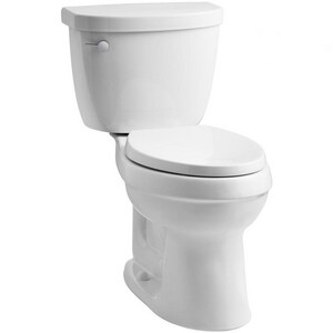 Kohler Cimarron® 1.28 gpf Elongated Toilet Bowl in White K3609-0