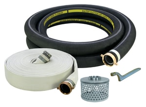 Abbott Rubber Co Inc 4 in. EPDM Hose Kit with Steel Suction Strainer A1210K40001130POL at Pollardwater