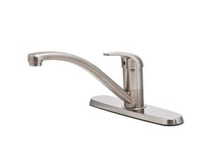 Pfister Single Handle Kitchen Faucet in Stainless Steel PG134500S