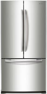 Samsung 33 in. wide 17.52 cf Freestanding Counter Depth Refrigerator in Stainless Steel SRF18HFENBSRUS