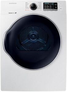 Samsung 25-13/16 x 33-1/2 in. 4.0 cf Electric Front Load Dryer in White SDV22K6800EWA1
