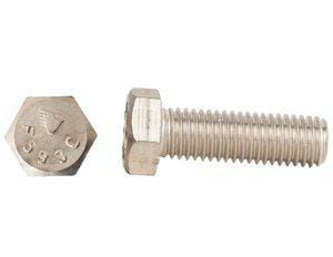 Endries International 3/4 x 4 in. Stainless Steel Hex Head Cap Screw EX816