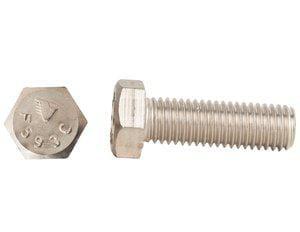 Endries International 1-1/4 x 50mm Stainless Steel Hex Head Cap Screw E0FZY