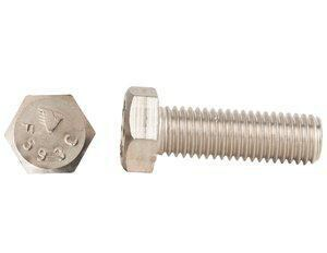 Endries International 1-3/4 x 30mm Stainless Steel Hex Head Cap Screw E0G0C