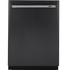 General Electric Appliances Café™ Series 34 x 23-3/4 in. 9A Undercounter Dishwasher in Matte Black GCDT866P3MD1