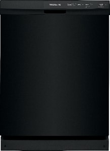 Frigidaire 24 in. 14-Setting 3-Cycle Built-In Undercounter Dishwasher in Black FFFCD2413UB