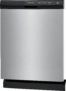 Frigidaire 24 in. 3-Cycle Built-in Dishwasher with Direct Feed in White FFFCD2413UW