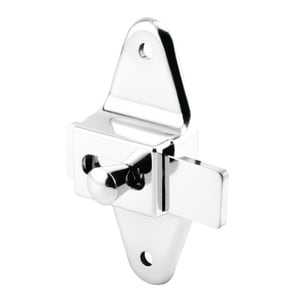 Primeline Products Zamak 3-1/2 in. Zinc Alloy Sliding Latch Centers in Polished Chrome P6506602