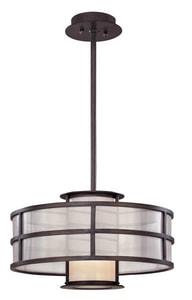 Troy Lighting Discus *CVR* 1 LGHT PEND SM CFL TFF2735
