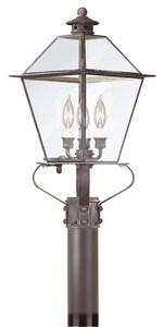 Troy Lighting Montgomery *CVR* MONTGOMERY 3 LIGHT TP8955CI