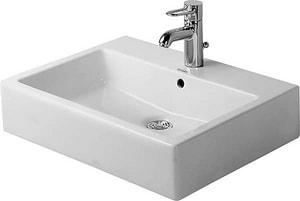 Duravit Vero Self-rimming/Drop-in Bathroom Sink in White Alpin D0452600000