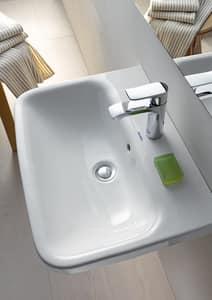 Duravit DuraStyle Wall Mount Bathroom Sink in White D2319550000