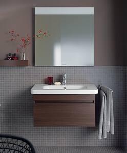 Duravit DuraStyle Wall Mount Bathroom Sink in White Alpin D2320800000
