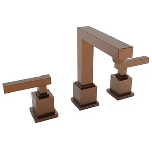 Newport Brass Cube 2 Two Handle Bathroom Sink Faucet in Antique Copper N2030/08A
