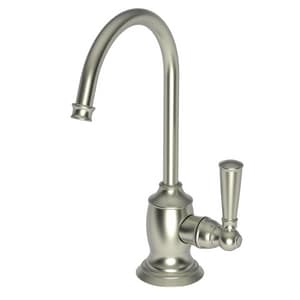 Newport Brass Jacobean 1 gpm 1 Hole Deck Mount Cold Water Dispenser with Single Lever Handle in Satin Nickel - PVD N2470-5623/15S